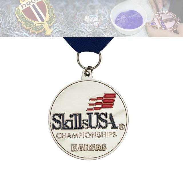 锦标赛奖牌定做工厂、技术比赛奖牌定制