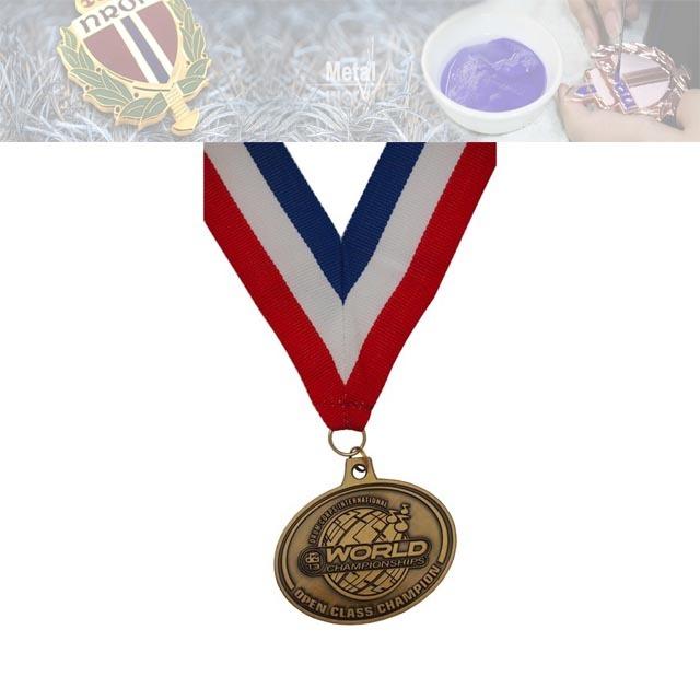 锌合金不入色奖牌,活动奖牌定制