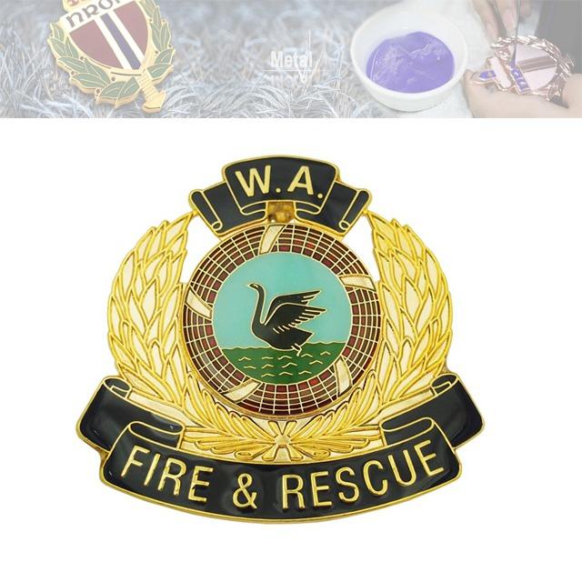 消防、营救纪念章、纪念章定制