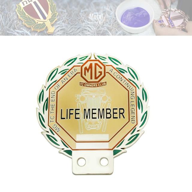 品牌金属车标牌定制、会员车标牌定制厂家