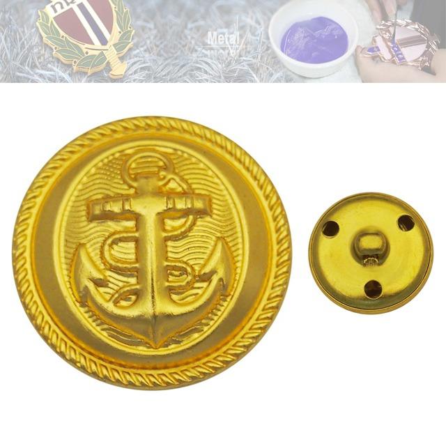 铜质纽扣定制厂家、金属纽扣定做