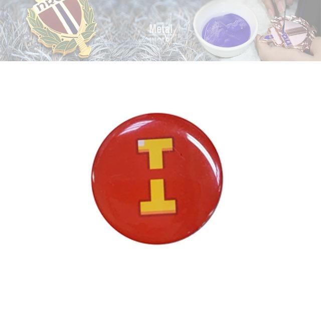 不锈铁平印徽章