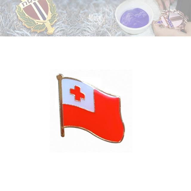 铁烤漆国旗徽章